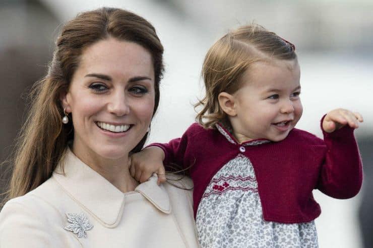 Дочь Кейт Миддлтон и Уильяма - Шарлотта фото
