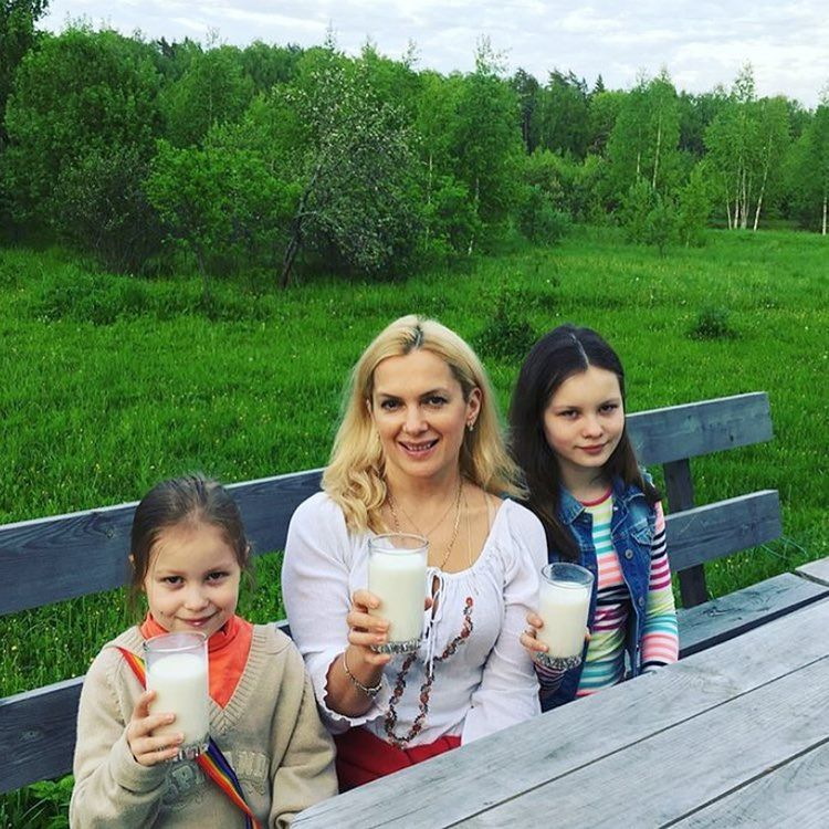 Дочь Марии Порошиной – Аграфена фото