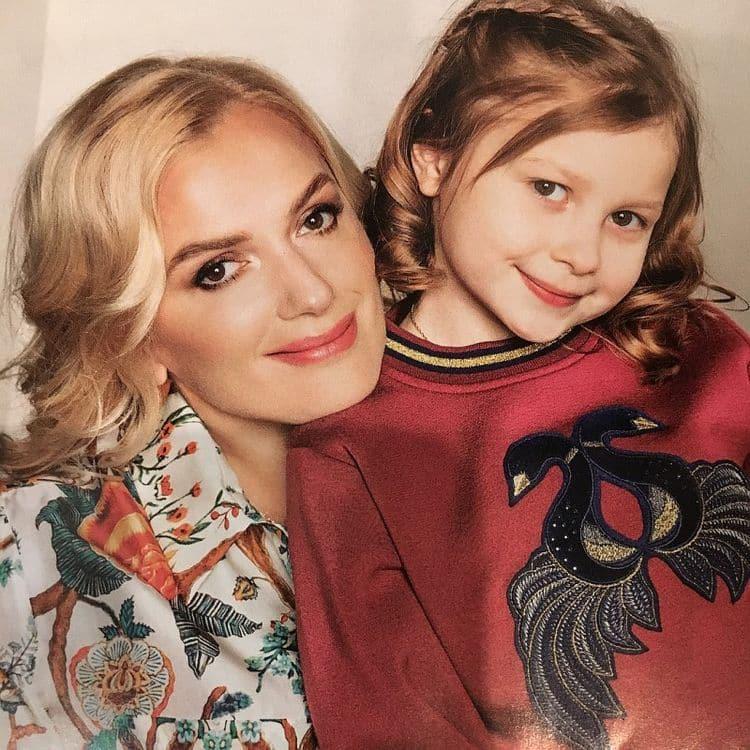 Дочь Марии Порошиной – Серафима фото