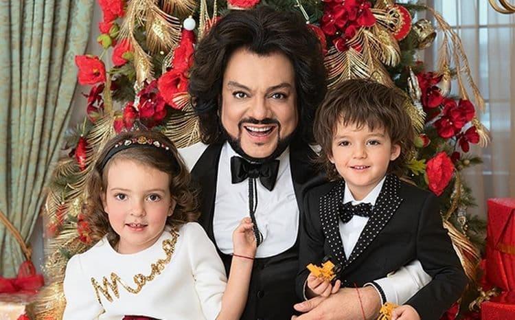 Кто мать детишек Киркорова? фото