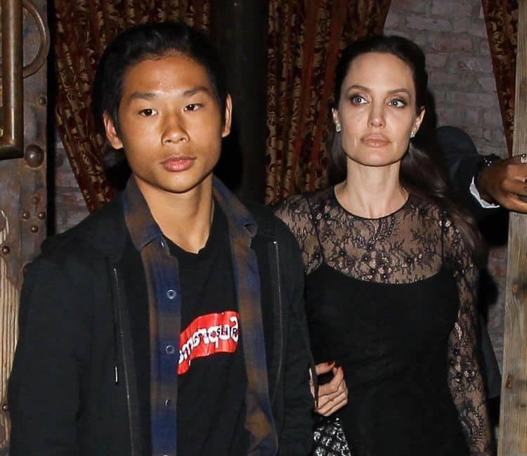 Сын Брэда Питта и Анджелины Джоли – Пакс Тьен фото
