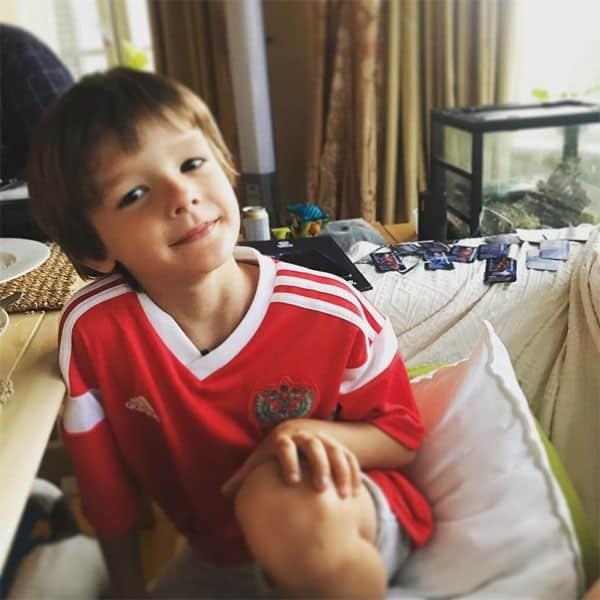Сын Марины Александровой – Андрей фото