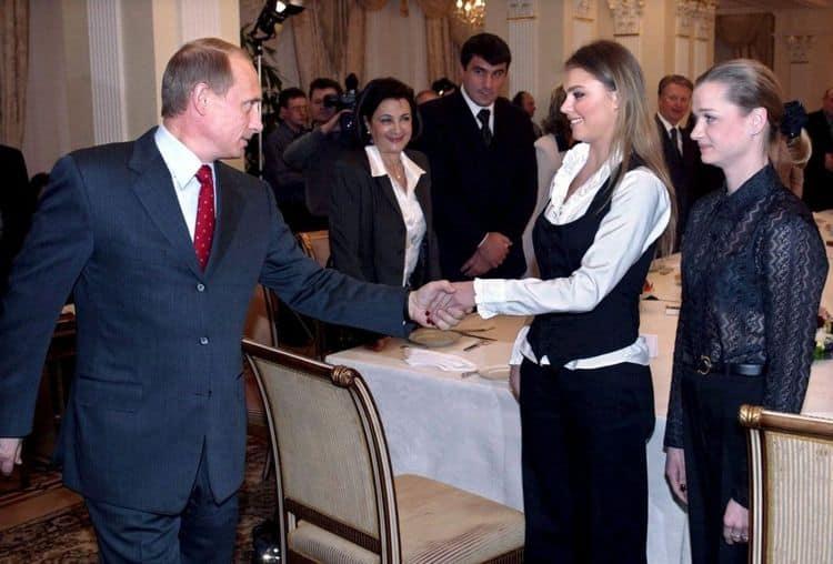 Венчание Алины Кабаевой с президентом, фото