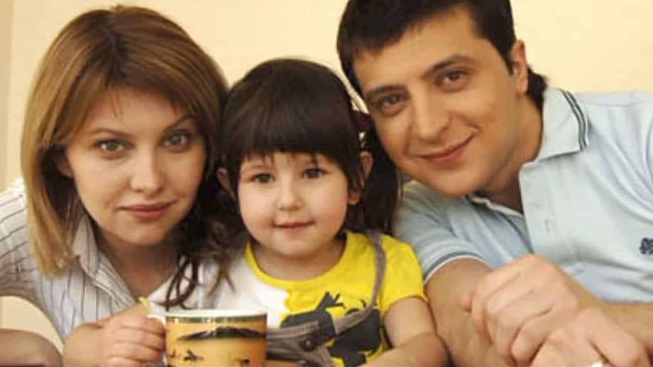 Семья и дети Владимира Зеленского фото