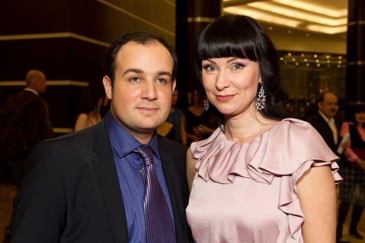 Александр Нестеров и Нонна Гришаева фото