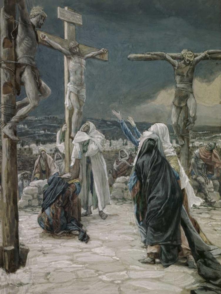 Смерть на кресте фото