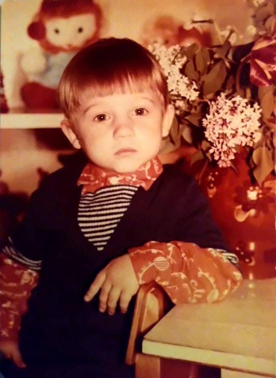 Алексей Фомин детство